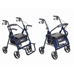 Drive Duet | Transport Chair & Rollator