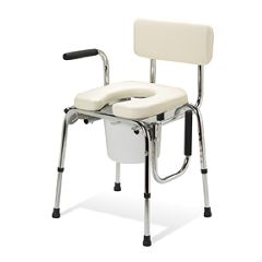 Commode- Padded Drop Arm