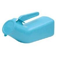 Blue Urinal   Portable
