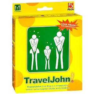 TravelJohn | Travel John | Disposable Urinal