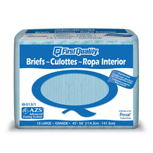 First Quality Adult Diapers Large